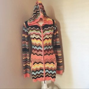NWT Missoni for Target Hooded Cardigan Sweater